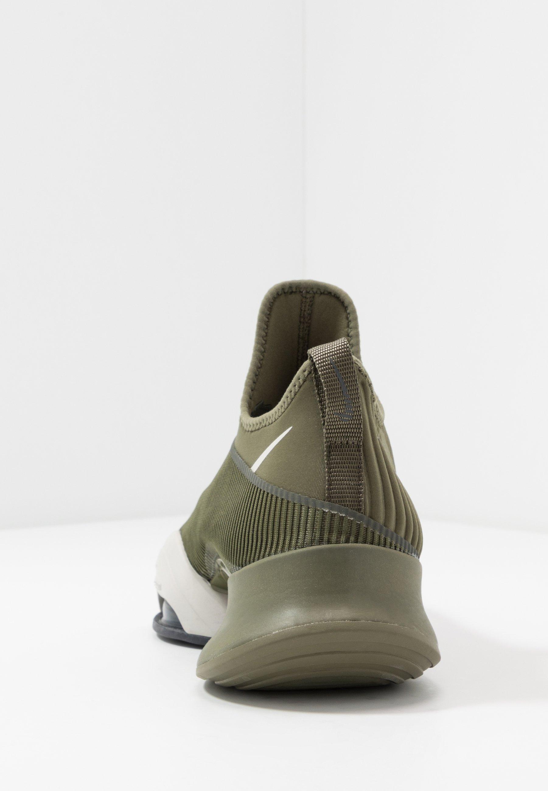Nike Performance AIR ZOOM SUPERREP - Sports shoes - medium olive/light bone/sequoia