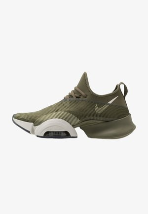 AIR ZOOM SUPERREP - Sportovní boty - medium olive/light bone/sequoia