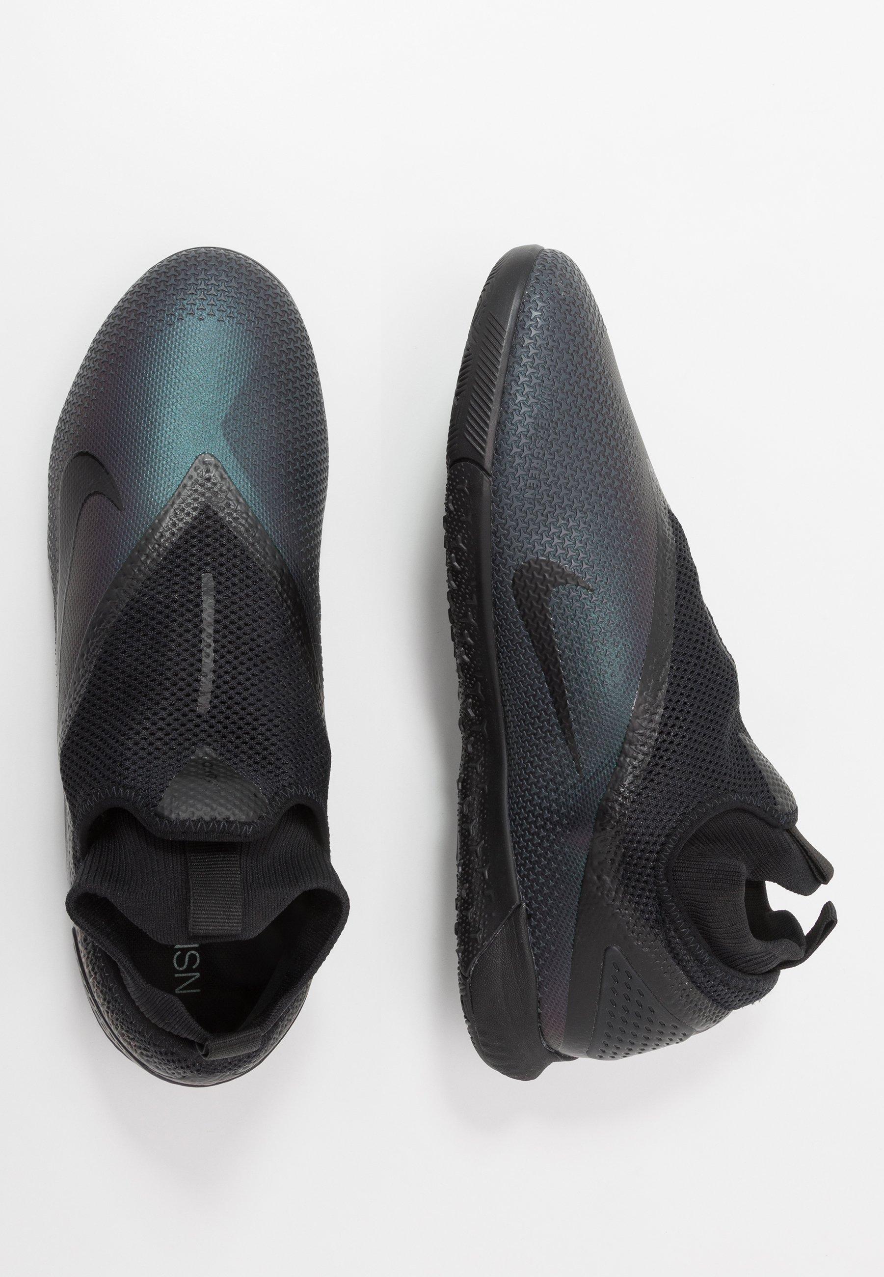 Nike Performance REACT PHANTOM VISION 2 PRO DF IC - Chaussures de foot en salle - black