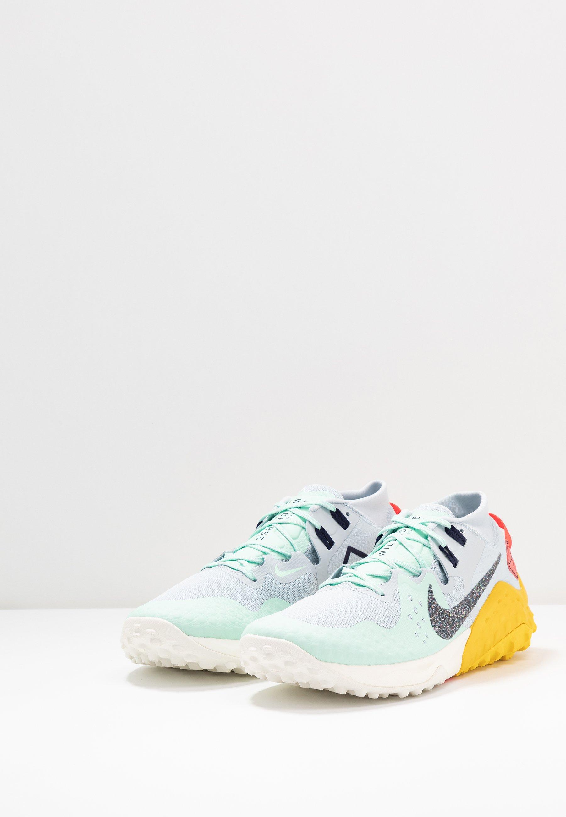 NIKE WILDHORSE 6 TRAIL LAUFSCHUH FÜR HERREN Chaussures de running aurablackened bluemint foamspeed yellowlaser crimsonsail
