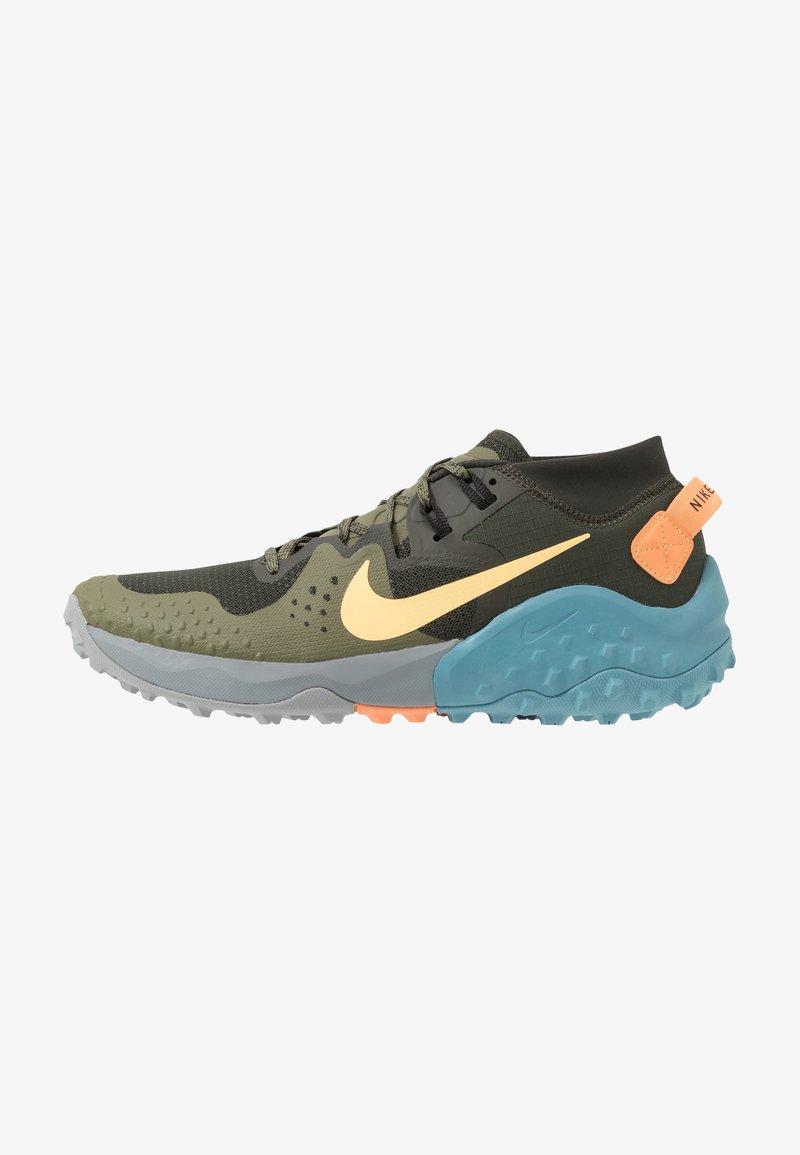 Nike Performance - NIKE WILDHORSE 6 TRAIL-LAUFSCHUH FÜR HERREN - Obuwie do biegania Szlak - sequoia/topaz gold/medium olive/cerulean