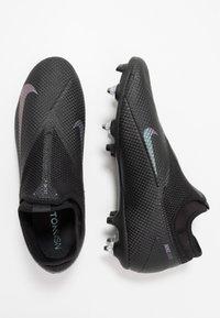 Nike Performance - PHANTOM VISION 2 ACADEMY DF SGPROAC - Voetbalschoenen met metalen noppen - black - 1