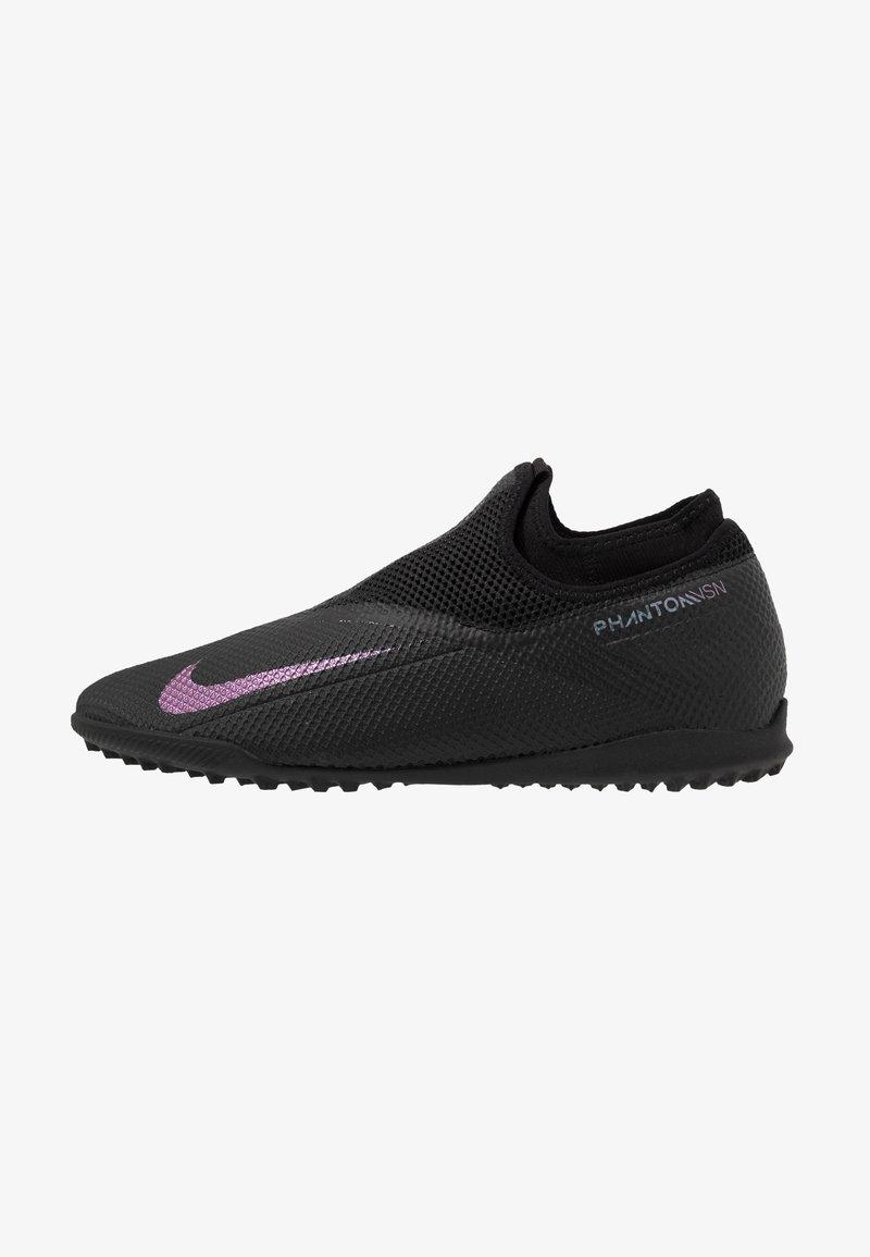Nike Performance - PHANTOM VISION 2 ACADEMY DF TF - Korki Turfy - black
