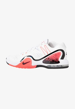 COURT TECH CHALLENGE 20 - Zapatillas de tenis para todas las superficies - white/wolf grey/hot lava/black