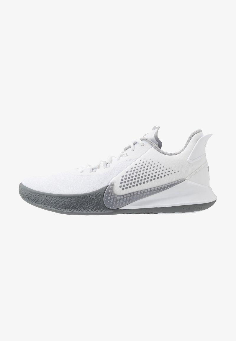 Nike Performance - MAMBA FURY - Obuwie do koszykówki - white/wolf grey/pure platinum