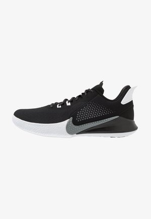 MAMBA FURY - Basketball shoes - black/smoke grey/white