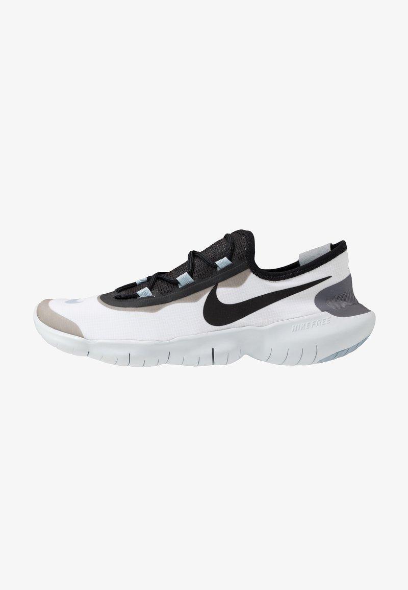 Nike Performance - FREE RN 5.0 2020 - Minimalist running shoes - white/black/obsidian mist