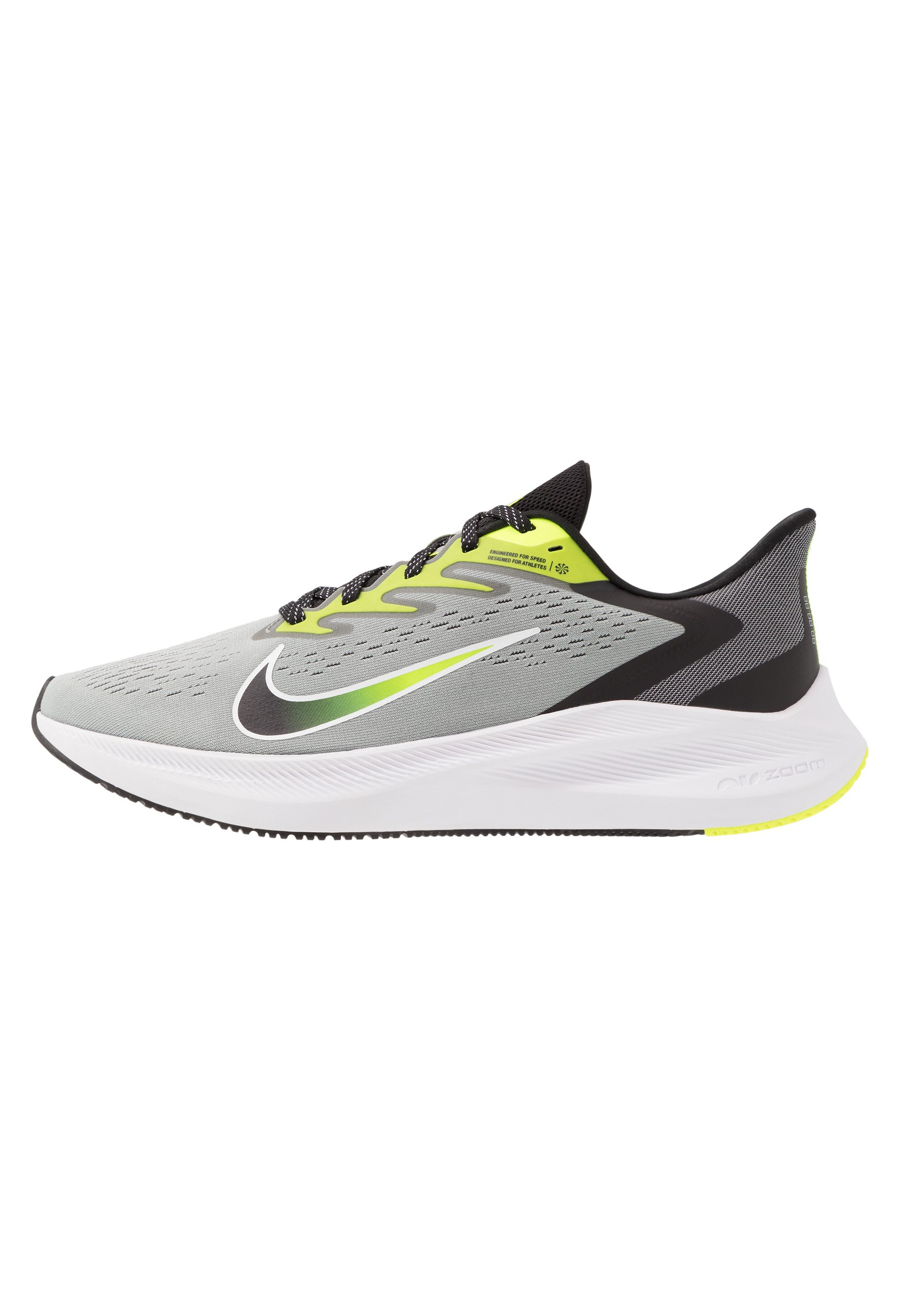 ZOOM WINFLO 7 Chaussures de running neutres light smoke greyblackvoltwhite