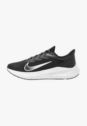 ZOOM WINFLO 7 - Neutral running shoes - black/white/anthracite