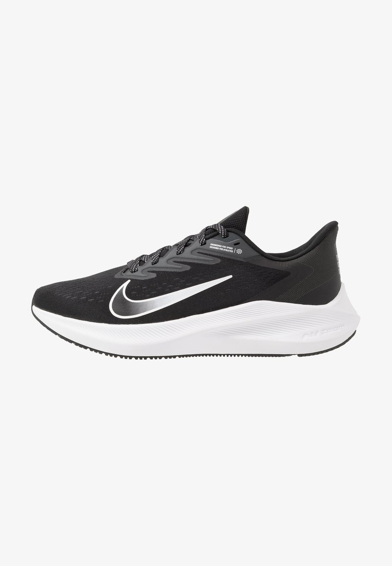 Nike Performance - ZOOM WINFLO 7 - Juoksukenkä/neutraalit - black/white/anthracite