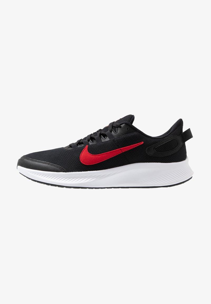 Nike Performance - RUNALLDAY 2 - Obuwie do biegania treningowe - black/university red/white