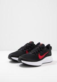 Nike Performance - RUNALLDAY 2 - Obuwie do biegania treningowe - black/university red/white - 2