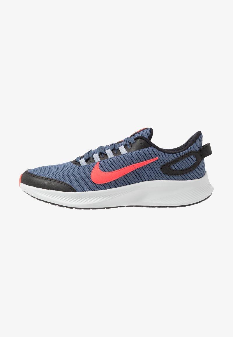 Nike Performance - RUNALLDAY 2 - Juoksukenkä/neutraalit - diffused blue/laser crimson/black
