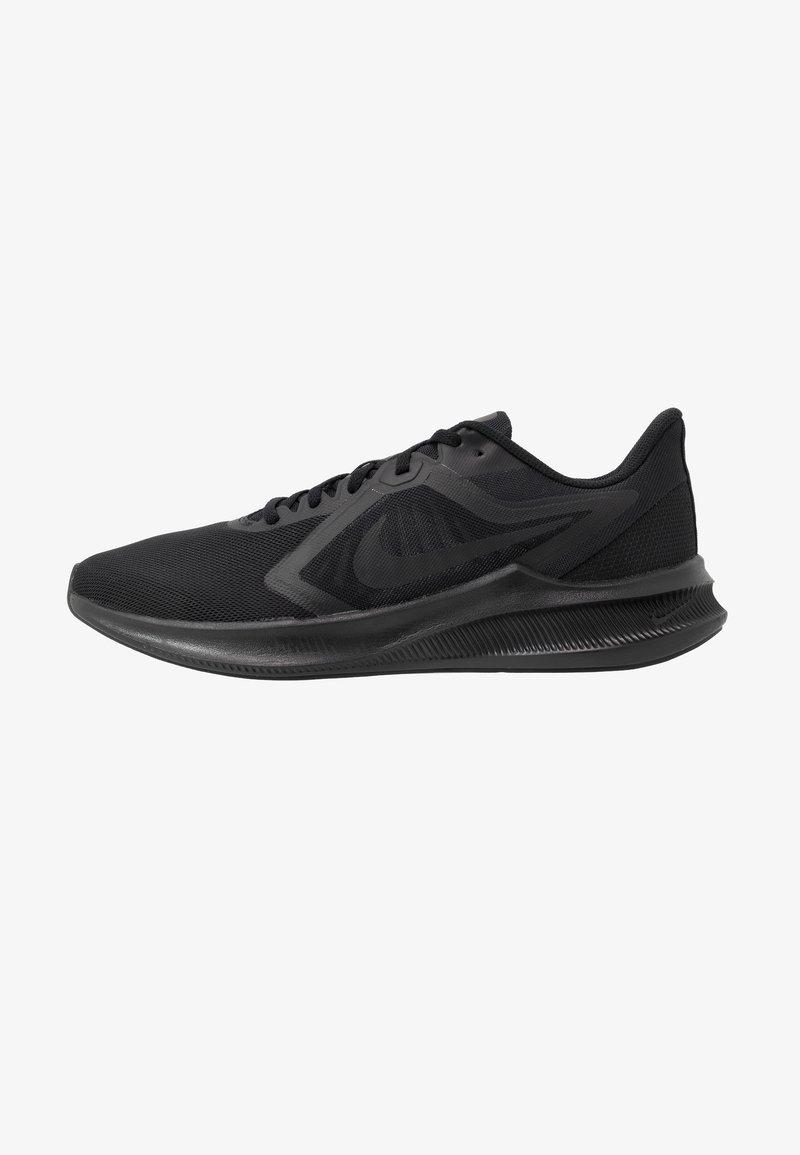 Nike Performance - DOWNSHIFTER 10 - Obuwie do biegania treningowe - black/iron grey