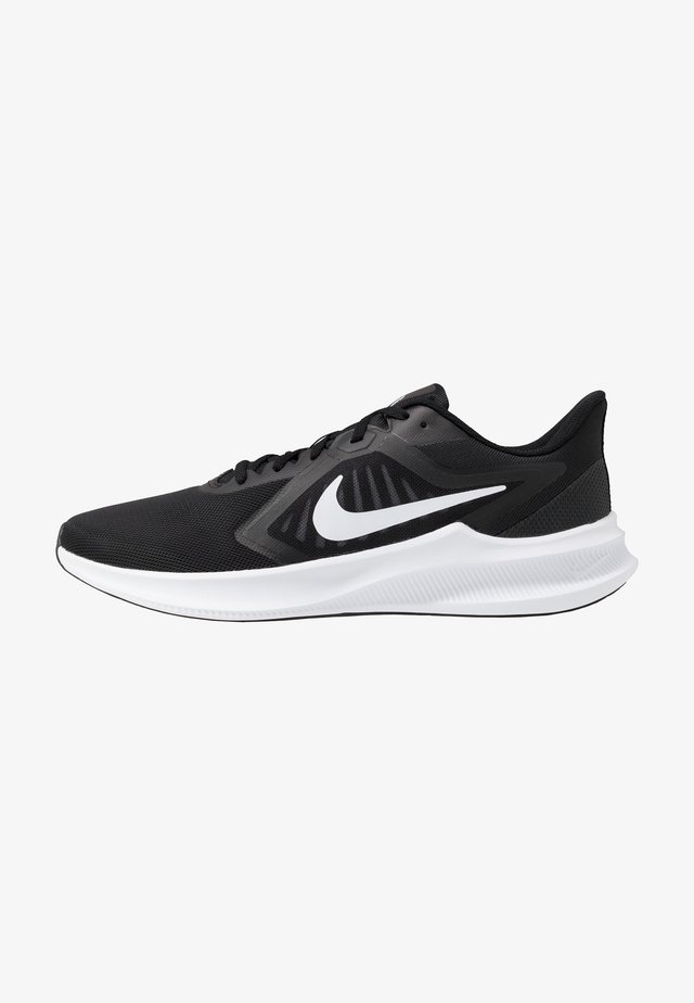 DOWNSHIFTER 10 - Sneaker low - black/white/anthracite