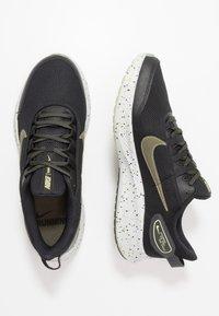 Nike Performance - RUN ALL DAY 2 SE - Juoksukenkä/neutraalit - black/medium olive/limelight - 1