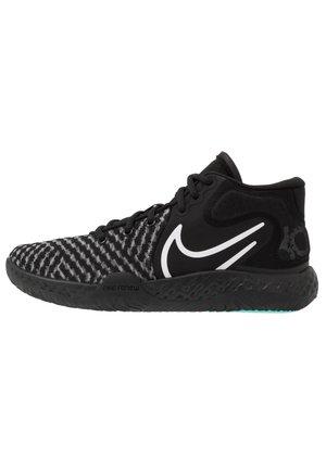 KD TREY 5 VIII  - Basketball shoes - black/white/aurora/smoke grey