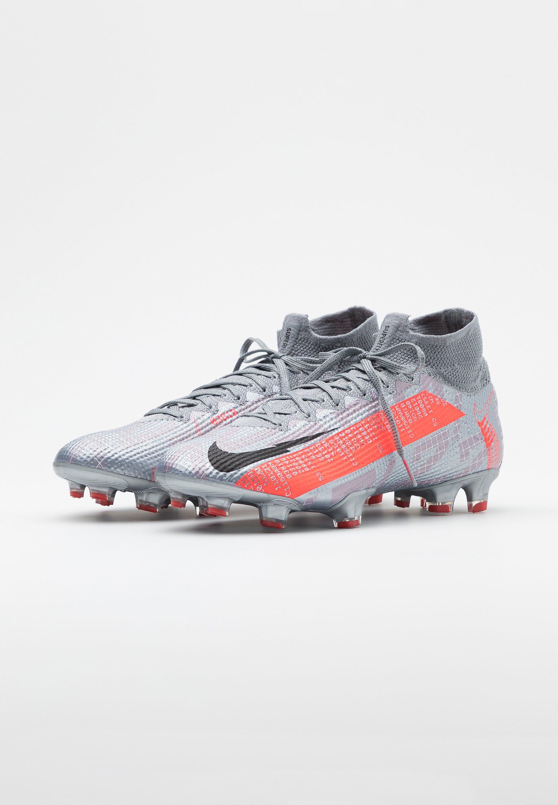 MERCURIAL 7 ELITE FG Voetbalschoenen met kunststof noppen metallic bomber greyblackparticle grey