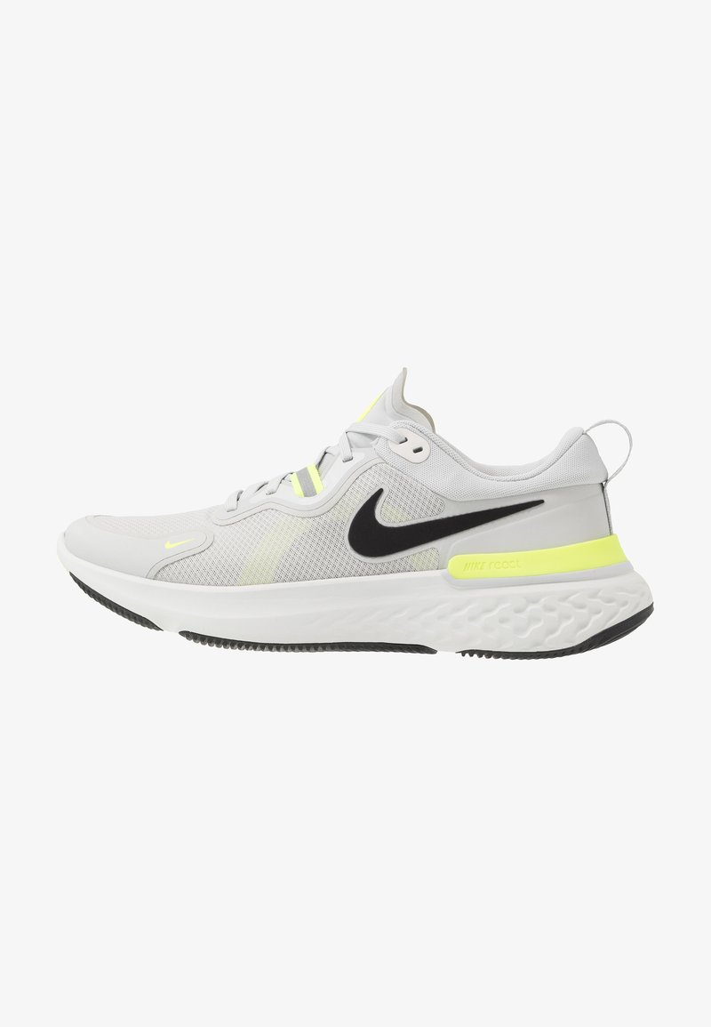 Nike Performance - REACT MILER - Juoksukenkä/neutraalit - grey fog/black/particle grey/volt