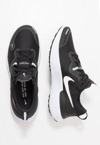 Nike Performance - REACT MILER - Juoksukenkä/neutraalit - black/white/dark grey/anthracite - 1
