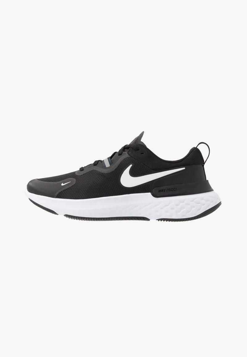 Nike Performance - REACT MILER - Juoksukenkä/neutraalit - black/white/dark grey/anthracite