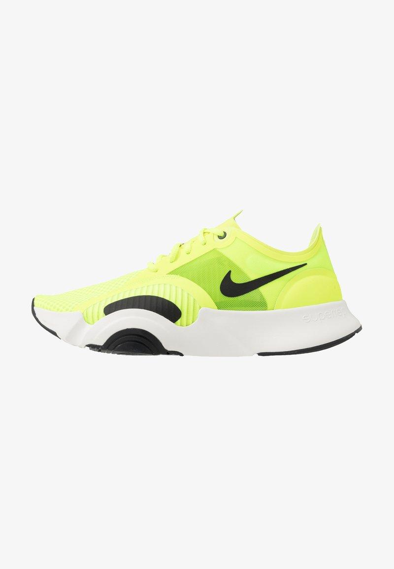 Nike Performance - SUPERREP GO - Obuwie treningowe - volt/black/summit white