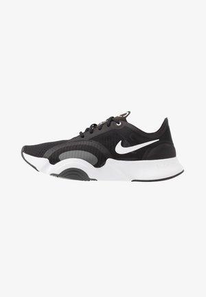 SUPERREP GO - Sportovní boty - black/white/dark smoke grey