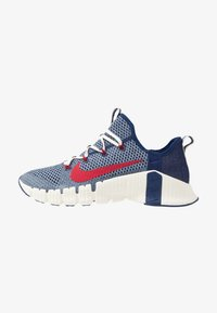 Nike Performance - FREE METCON 3 AMP - Sports shoes - deeproyal blue/gym red/deep royal blue - 0