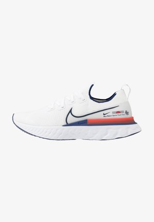 REACT INFINITY RUN FK - Neutral running shoes - white/blue void/track red