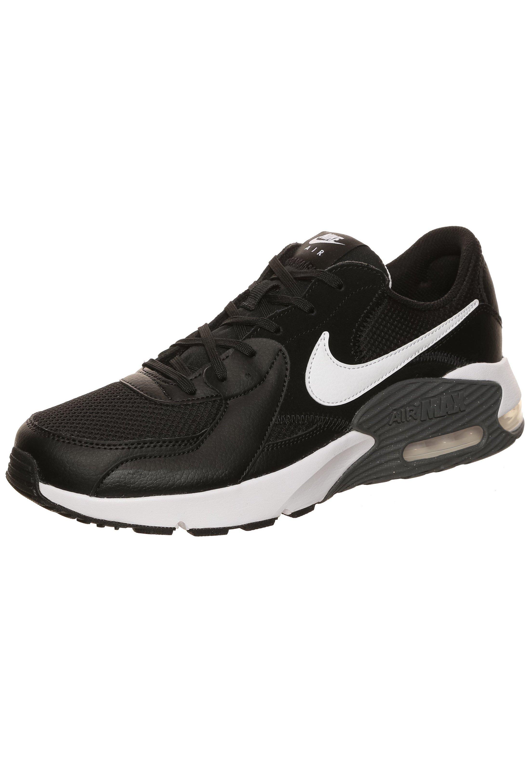 """Nike Sportswear HERREN SNEAKER """"AIR MAX EXCEE"""" - Sneakersy niskie - black/white/dark grey"""