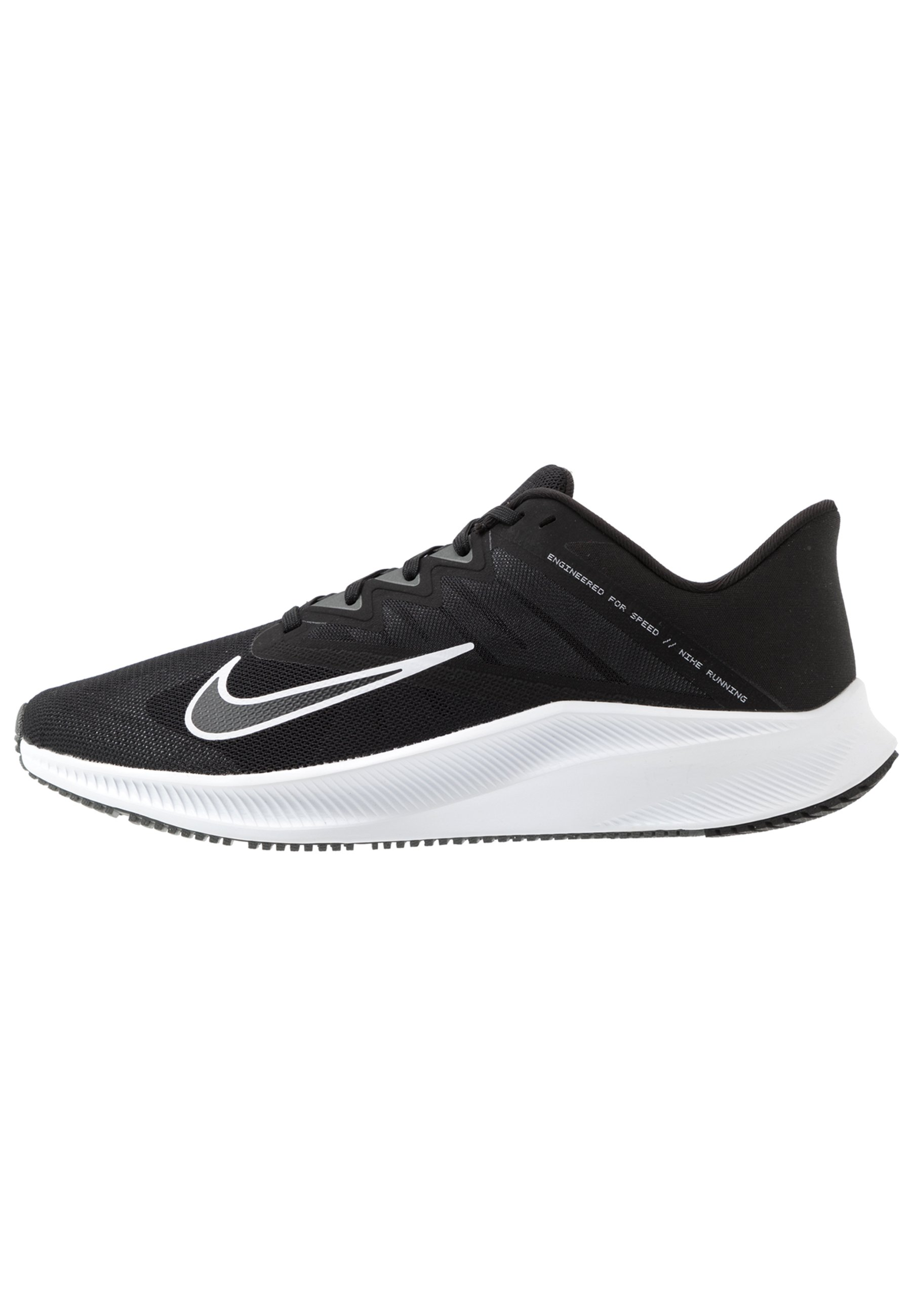 QUEST 3 Chaussures de running neutres blackwhiteiron grey