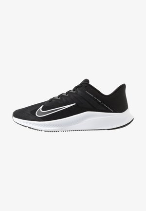 QUEST 3 - Neutral running shoes - black/white/iron grey