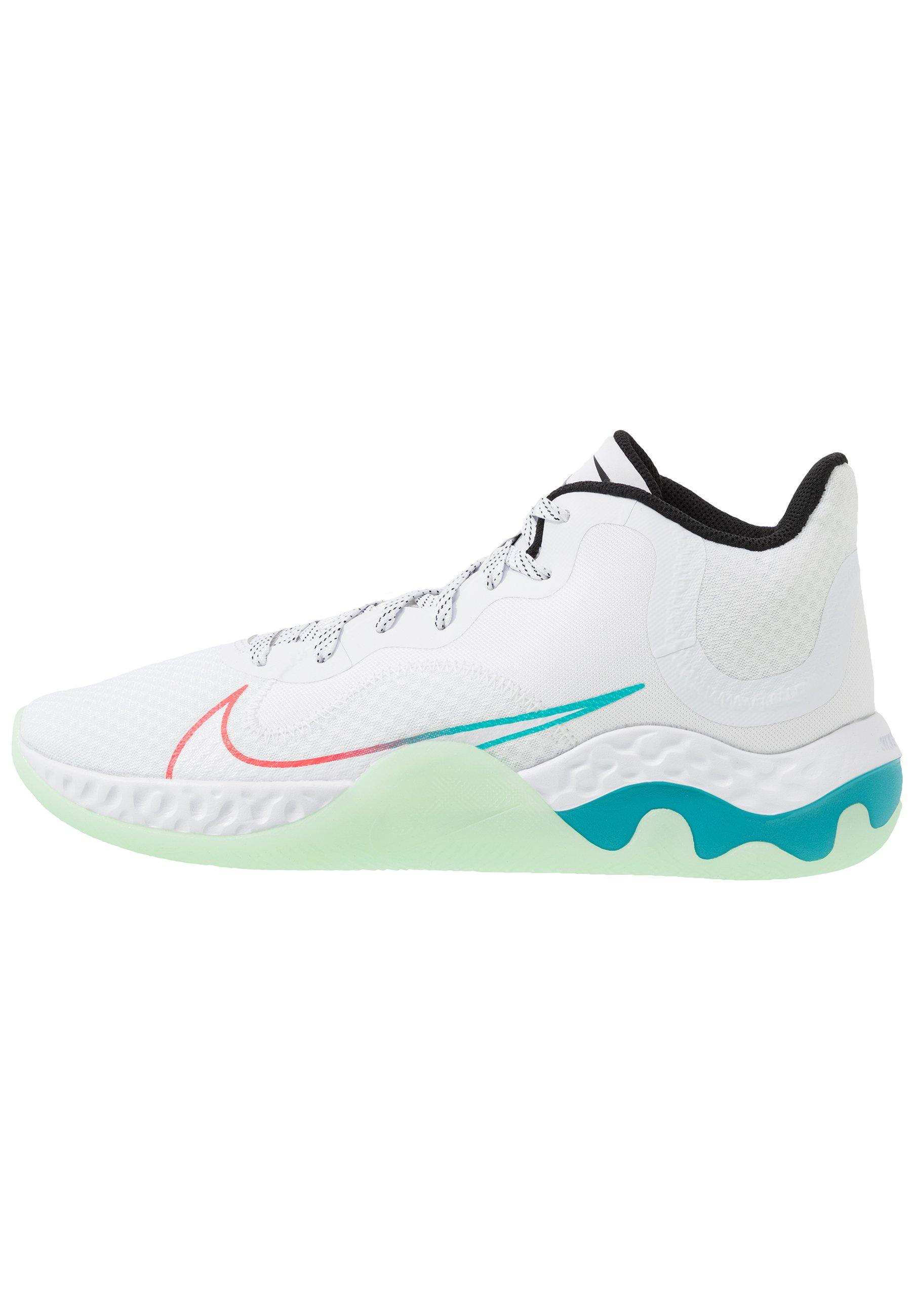 RENEW ELEVATE Chaussures de basket whiteblackflash crimsonoracle aquavapor green