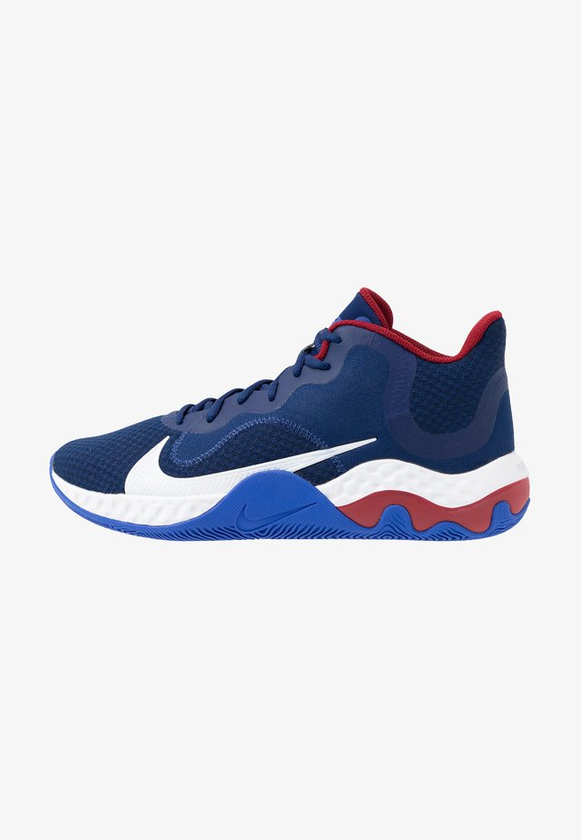 RENEW ELEVATE - Scarpe da basket - blue void/white/racer blue/deep royal blue/red crush