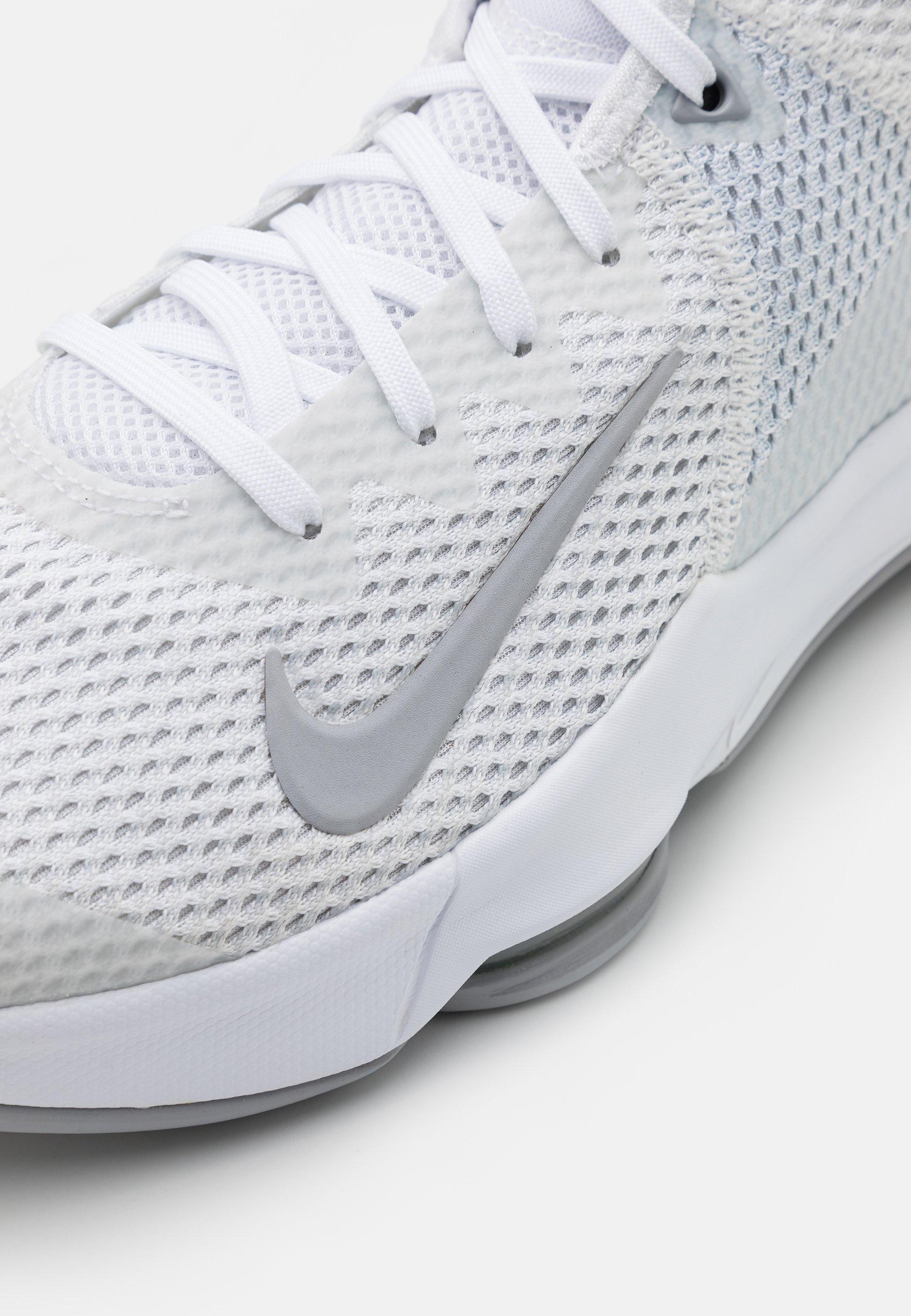 Nike Performance Lebron Witness Iv - Basketbalschoenen White/wolf Grey/pure Platinum Goedkope Schoenen