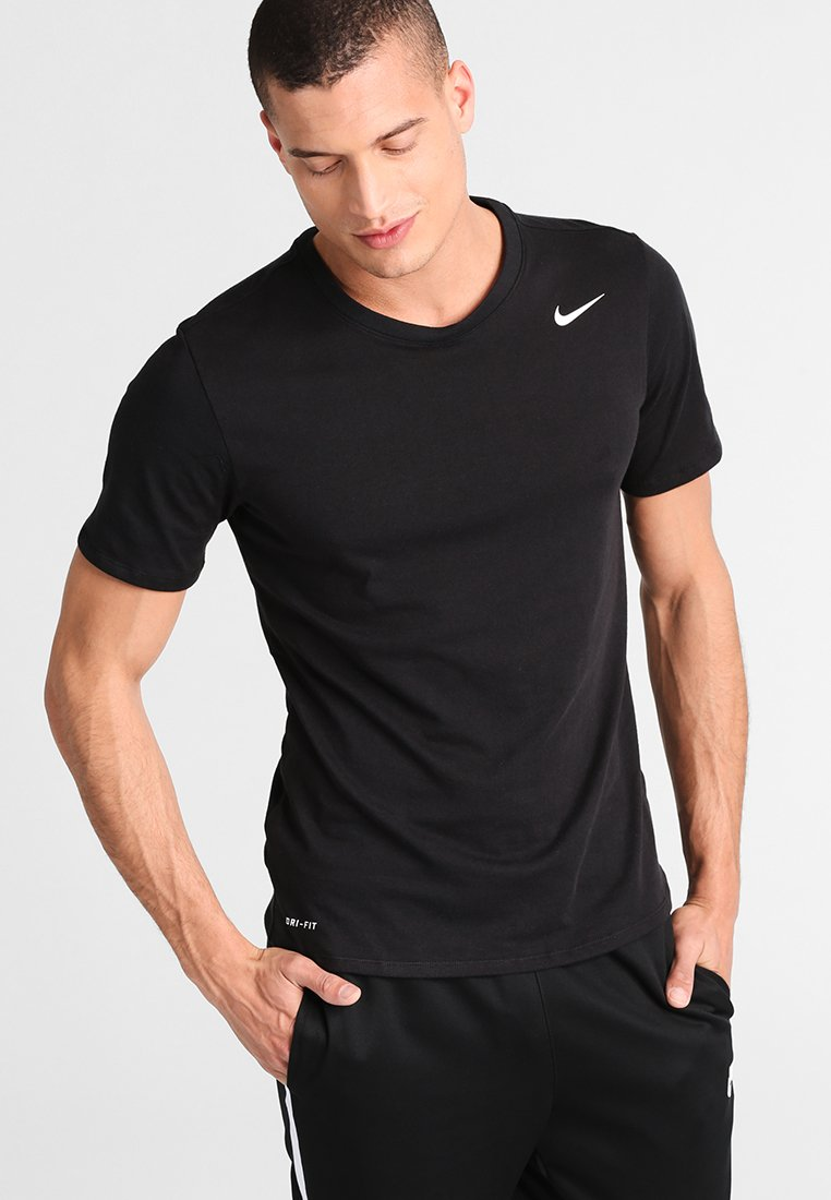 Nike Performance - DRI-FIT SHORTSLEEVE 2.0 - Camiseta básica - black/white