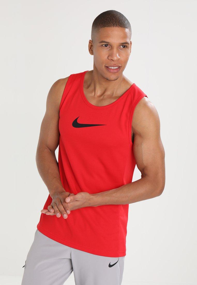 Nike Performance - CROSSOVER - Koszulka sportowa - university red/black