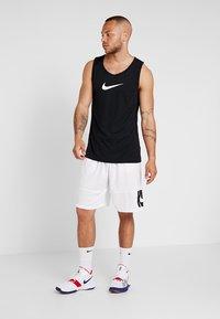 Nike Performance - CROSSOVER - Sportshirt - black/white - 1