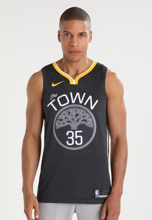 NBA GOLDEN STATE WARRIORS ALTERNATE SWINGMAN - Klubové oblečení - anthracite/white/amarillo/durant kevin