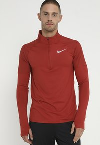Nike Performance - DRY TOP 2.0 - Funktionsshirt - dune red/reflective silver - 0