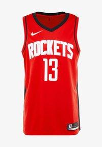 Nike Performance - HOUSTON ROCKETS JAMES HARDEN NBA SWINGMAN - Artykuły klubowe - university red - 4