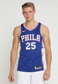 Nike Performance - PHILADELPHIA 76ERS NBA SWINGMAN - Club wear - rush blue/white/university red - 0