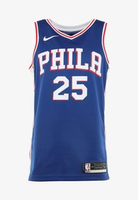 Nike Performance - PHILADELPHIA 76ERS NBA SWINGMAN - Club wear - rush blue/white/university red - 5