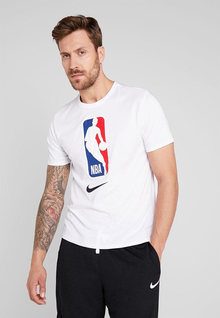 Nike Performance - NBA DRY TEE - T-shirts print - white