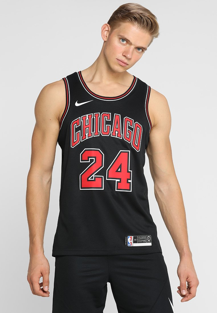 Nike Performance - CHICAGO BULLS NBA SWINGMAN  - Club wear - black