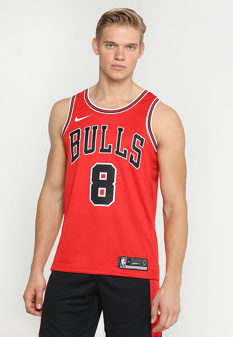 Nike Performance - CHICAGO BULLS NBA SWINGMAN - Vereinsmannschaften - university red/white