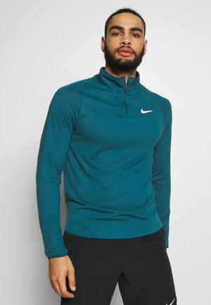 Sports shirt - valerian blue/white