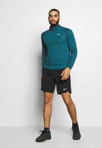 Nike Performance - Sports shirt - valerian blue/white - 1