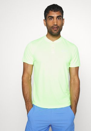 DRY BLADE - Print T-shirt - ghost green/white