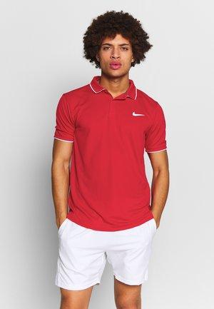 DRY TEAM - Funkční triko - gym red/white